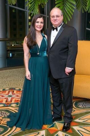 Cynthia and Tony Petrello at the Winter Ball January 2015