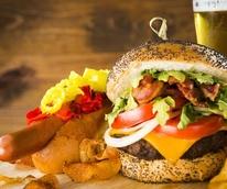 Burger, Samson's Hot dogs