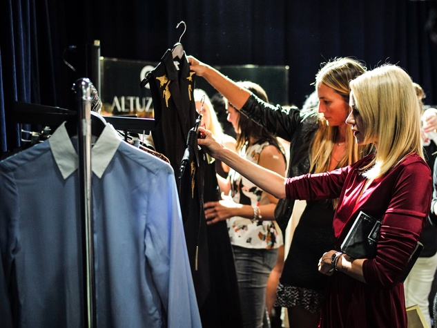 Naomi Watts shopping at Target Altuzarra event