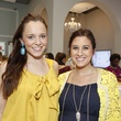 1 Allie Nicholson, left, and Ellen Cairns at WOW with Kendra Scott October 2014