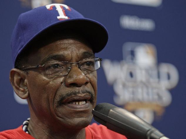 Ron Washington of the Texas Rangers