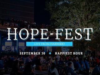 Harwood presents Hope Fest Live