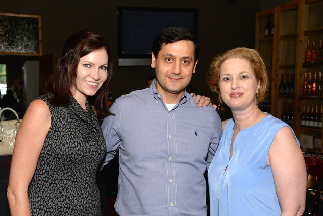 35 Ronda Suder, from left, Phillipe NAME and Judy Blake at the KNOWAutism Foundation reception September 2014