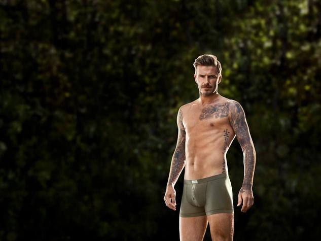 David Beckham H&M Bodywear underwear (File photo)