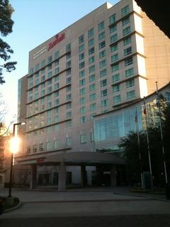Marriott Waterway Hotel in The Woodlands RUN FLAT