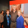 7 5658 Janiece Longoria, from left, Lou Vest and Mayor Annise Parker at the Port of Houston library exhibition celebration September 2014