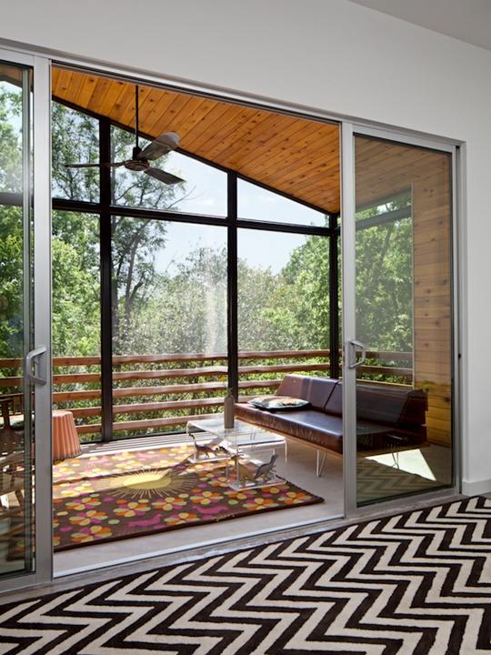 Austin Modern Home Tour 2014 1021 W. Milton interior