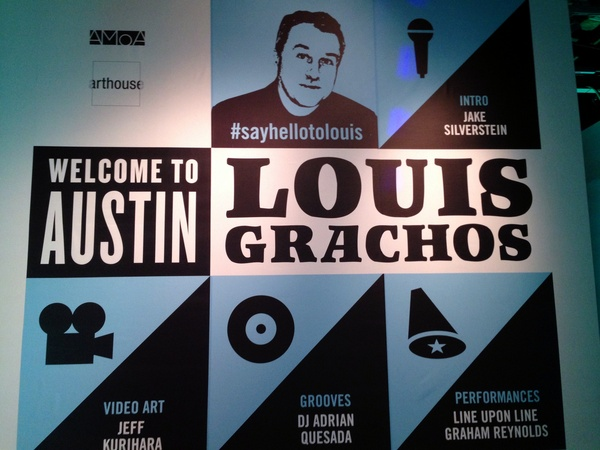 Austin Photo Set: News_caitlin_meet louis grachos_march 2013_mural