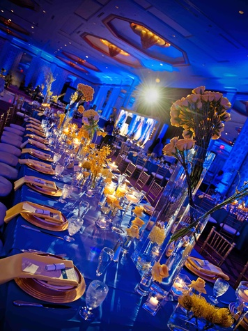 Beyond lighting at Dallas wedding