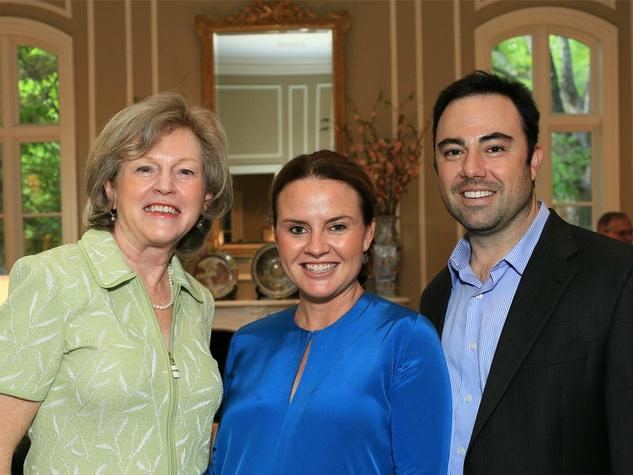 Marilyn Waisanen, Waverly Smith, Michael Bosco, Flora Award Announcement Party