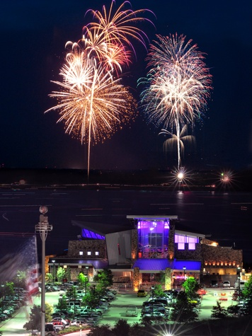 Friday Night Fireworks at Gaylord Texan