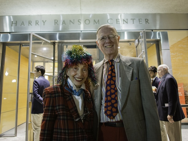 Harry Ransom Center Kaleidoscope February 2017 Judge Janice Law Donald Jansen