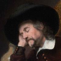 News_Dutch art_MFAH_Maes_Sleeping Man