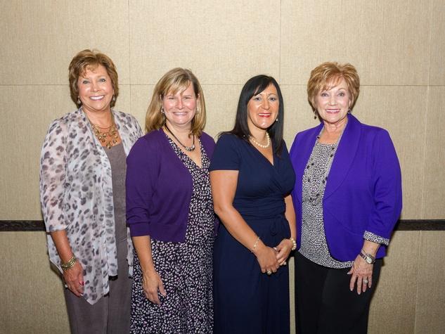 Martha Steveson, Kelly Judy, Melanie Pellegrino, Debbie Poche