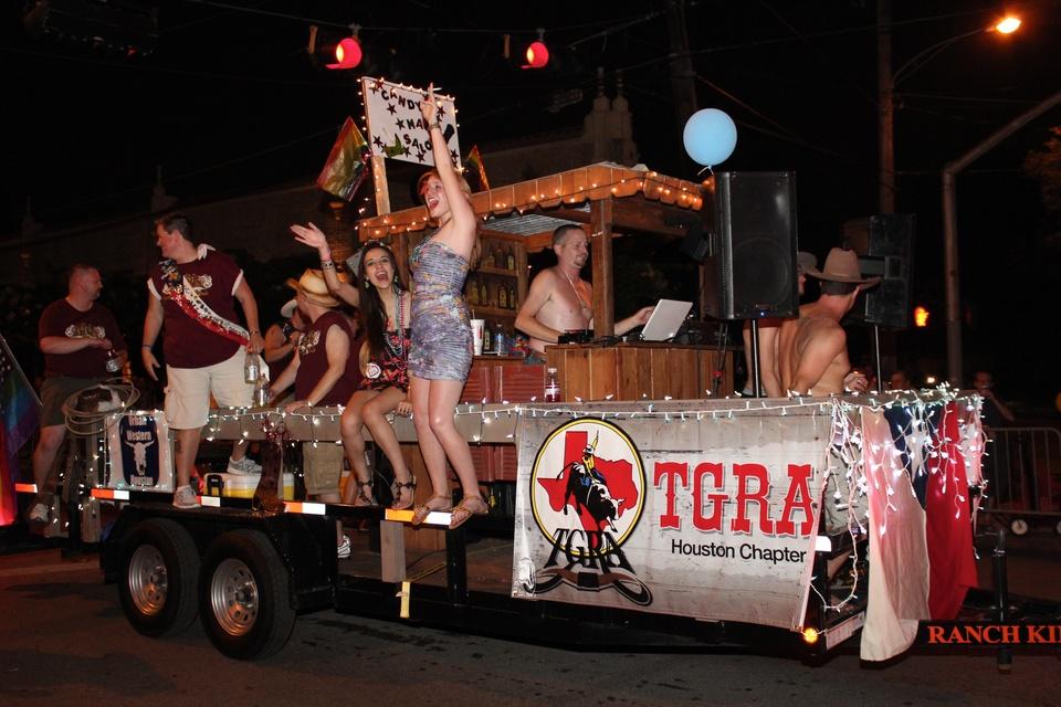 Gay Pride Parade, Texas Gay Rodeo Association, June 2012