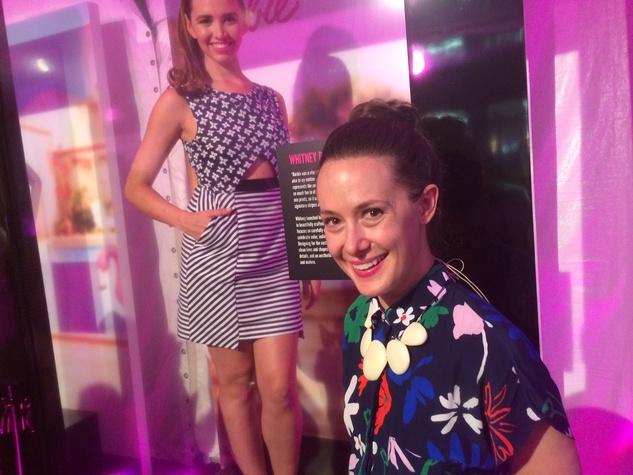 WHIT designer Whitney Pozgay and Barbie design