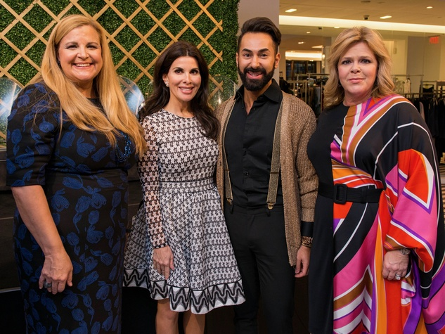 DeeDee Marsh, Alissa Maples, Fady Armanious, Kelli Weinzierl at Women of Distrinction announcement party