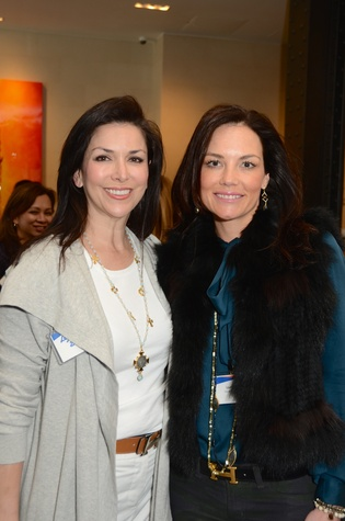 5 Lynn Zeid, left, and Laurel Ross at the Ellevate launch March 2015