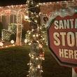 Holiday Christmas lights Arlington Interlochen