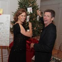 M.D. Anderson Santa's Elves party, December 2012, Barbara Aksamit, John Crabb