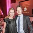 Catherine Murphy and  Stephan Jenn at the Medical Bridges Gala September 2014