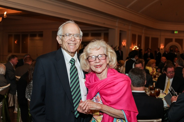 22 Jim and Shirley Dannenbaum at the Men of Distinction luncheon May 2014