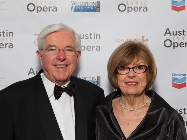 ALO Opening Night 2013 Van and Jeanne Hoisington