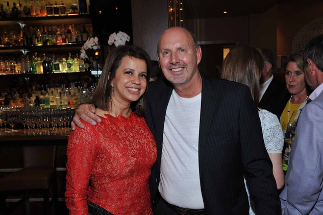 Houston, News, Shelby, Escape Celebrity Serve Benefit, April 2015, Rudi Pijnnaken and Dina Fontenot