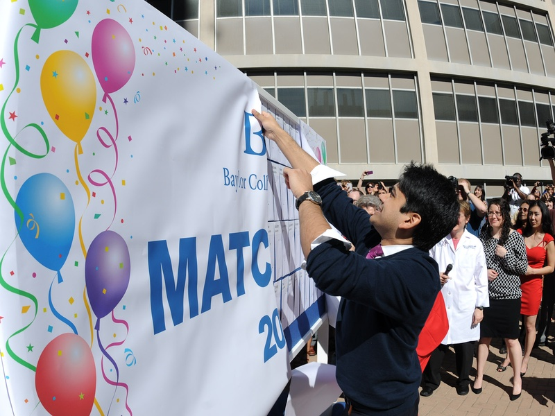 7561, Baylor College of Medicine, Match Day, March 2013
