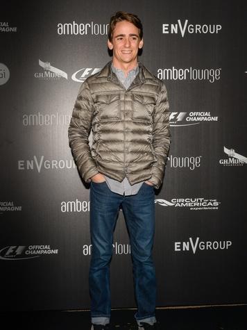 Esteban Guttierez Amber Lounge Austin F1