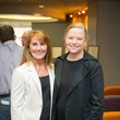 9550 Lynne Baird, left, and Flo Crady at the Lester and Sue Smith Clinic dedication at Texas Children's Hospital May 2014