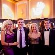 13 Amber Anderson, from left, Steven Weizel, Sydney Miller and Michael Vanderhider at the Orange Show Gala November 2014