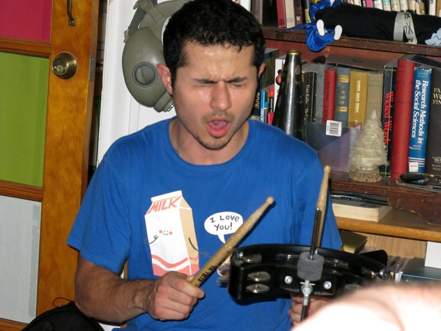 Jose Chavez, a panther on the drums