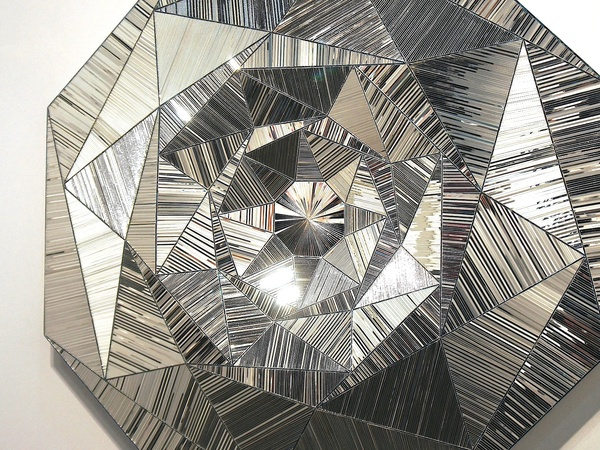 Texas Contemporary Art Festival, wrap up, October 2012, Monir Farmanfarmaian, Octogon, 2012