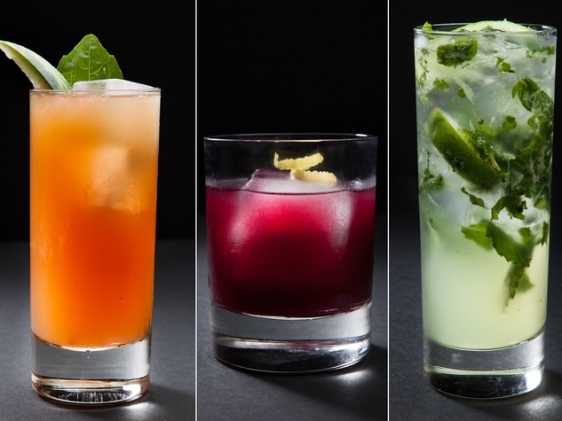 60 Degrees Mastercrafted cocktails drinks