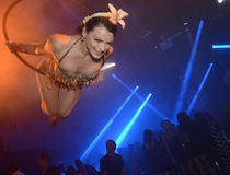 Shelley Neuman: Beautiful jet setters light up Ballet Austin for My Yacht Club's glittering F1 disco blowout