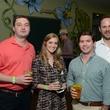 Houston Arboretum Evergreen party, May 2015, Jack Skagerberg, Kristen Novak, Mike Malone, George Jackson
