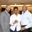44 Hil Huckaby, from left, Joselyn Thomas and Derrick Nash at the HFAF at Neiman Marcus Art of Fashion September 2014