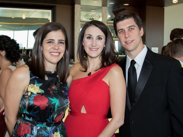 Rachel Wildes, Sarah Pederson, Trey Pederson