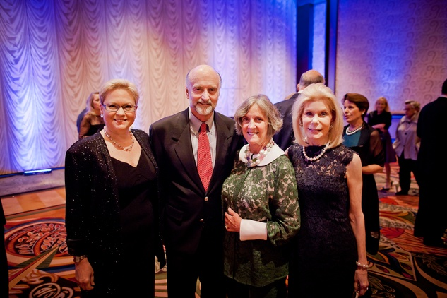17 Melaney Linton, from left, Bill and Sara Morgan and Frances Marzio at the Planned Parenthood Gala October 2014