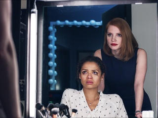 Gugu Mbatha-Raw and Jessica Chastain in Miss Sloane