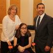5 Cheryl Rosenberg, from left, Allison Rosenberg and Richard Rosenberg at the The Center Luncheon February 2015