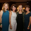 Julie Moorhead, from left, Dorothy Cuenod, Mindy Hildebrand and Mary Winters at the LifeHouse Houston Duck Dynasty dinner September 2014
