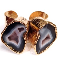Olivia K Jewelry agate cuff