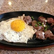 Bo Ne Houston Vietnamese restaurant steak and sunnyside-up eggs