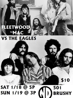 poster for School of Rock Fleetwood Mac vs the Eagles