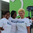 News, Shelby, Silver Eagle Distributors at Food Bank, July 2015 , Latoya Stephenson, Terre Daniels, Tiffany Leblanc