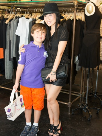 Tina Craig and her son Collin