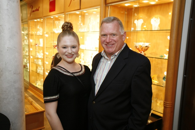 10 Madeline and Tim Molloy at Events' Shop With Heart Card launch party April 2014