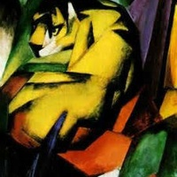 Bisong Art Gallery Tiger By Franz Marc